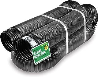 rigid plastic perforated drain pipe