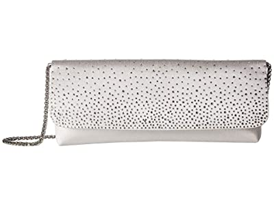 Adrianna Papell Kana (Silver) Clutch Handbags