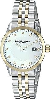 Women's Freelancer Ladies Quartz Watch with Stainless-Steel Strap, Silver, 14.75 (Model: 5629-STP-97081)