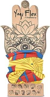 Yogi Flex Headband - Full (Burgundy and Yellow)