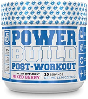 POWERBUILD Clinically-Dosed Post Workout Recovery & Muscle Building Supplement - Boost Muscle Growth, Recovery, & Strength...