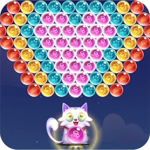 Cute Cat Pop: Bubble Shooter Legend 2020