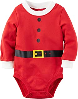 Carter's Baby Bodysuits, Red, 18 Months