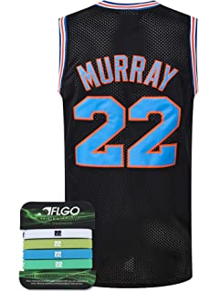 AFLGO Murray Space Jersey Basketball Jerseys Include Set Glow in The Dark Wristbands Halloween Costumes