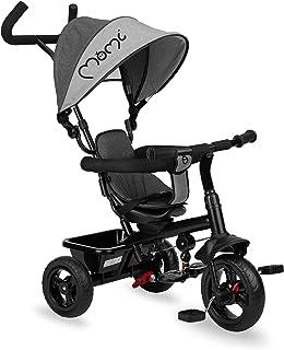 MOMI IRIS trehjuling för barn, grå
