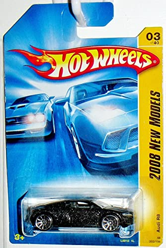 Hot Wheels 2008 New Models Audi R8, 10 Spoke Wheels version   03 40, 1 64 Scale. by Hot Wheels