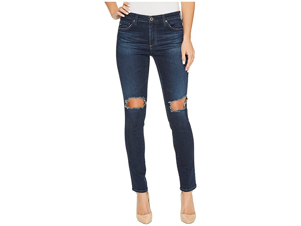 AG Adriano Goldschmied The Leggings Ankle in Nightingale (Nightingale) Women's Casual Pants, Navy
