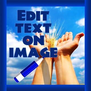 Edit Text On Image