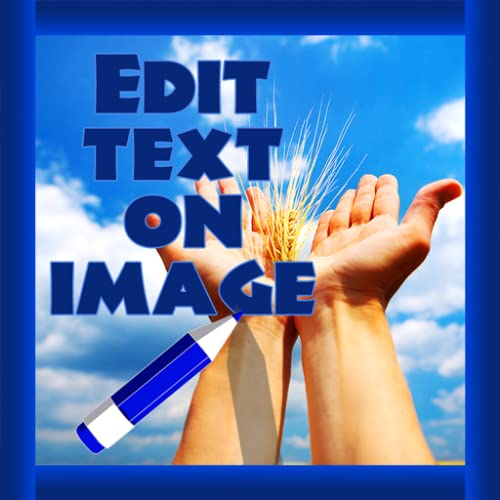 Editar texto na imagem