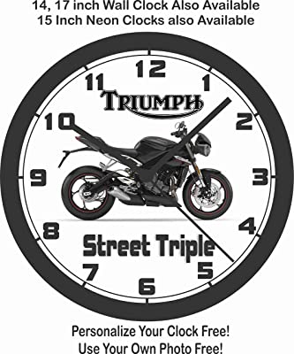 Amazon Com Suzuki Gsxr Drag Bike Wall Clock Yamaha Honda Kawasaki