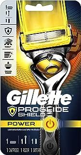 Gillette Fusion5 ProShield Power Men's Razor Handle + 1 Refill + 1 Battery
