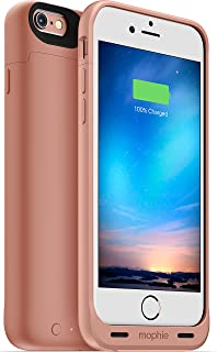 mophie Juice Pack Reserve - Lightweight and Compact Mobile Protective Battery Case for iPhone 6/6s - Rose Gold