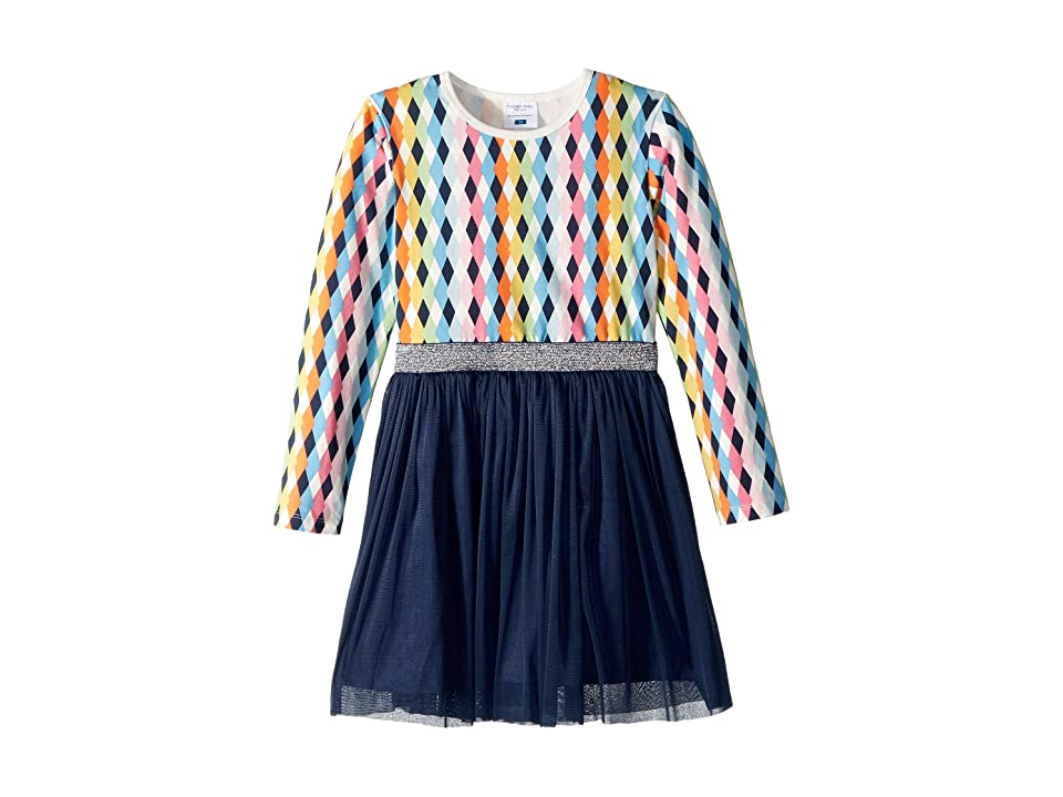 Toobydoo Tulle Party Dress (Toddler/Little Kids/Big Kids) (Diamond Multicolor) Girl