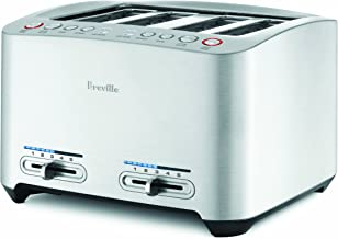 Breville BTA840XL Remanufactured Die-Cast 4-Slice Smart Toaster