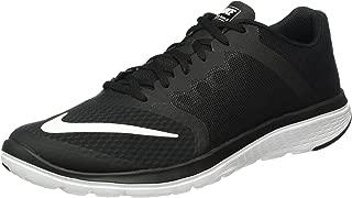 Men's FS Lite Run 3 Running Shoe Black/White Size 11 M US