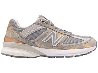 New Balance 990v5 (Moonbeam/Silver) Women