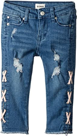 Etta Crop Jeans in Glass Blue (Toddler/Little Kids)