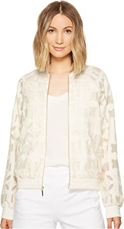 Mola Burnout Bomber Jacket