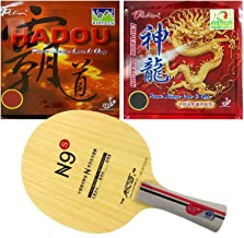 Yinhe N9S FL Blade with Palio Hadou BIOTECH and Emperor Dragon Rubbers
