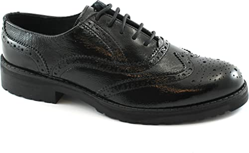IGI & CO Chaussures Noires 88082 Sport élégantes de Brogues Anglais Paint