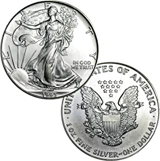 1993 American Silver Eagle $1 Brilliant Uncirculated