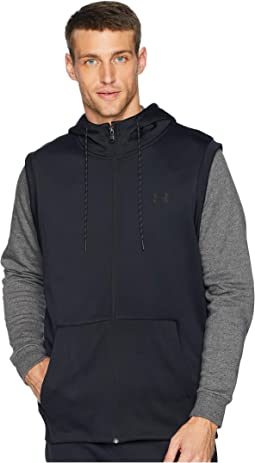 Armour Fleece Sleeveless Full Zip Hoodie