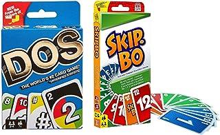 (2箱)skip Bo+uno Dos カードゲームunoポーカー、エンターテイメントと楽しいマルチプレイヤーおもちゃホームパーティーテーブルゲーム