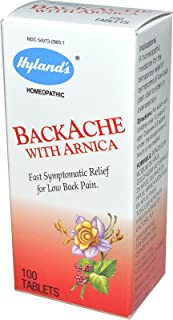 Hylands, Backache with Arnica, 100 Count