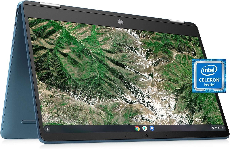 Laptop HP Max 68% OFF X360 14a Chromebook Entertaining HD Touchscreen Luxury goods f 14
