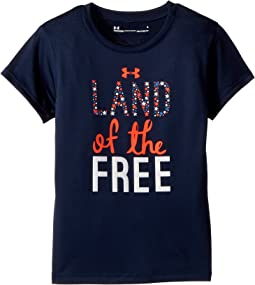 Under Armour Kids Land of the Free Short Sleeve (Little Kids)