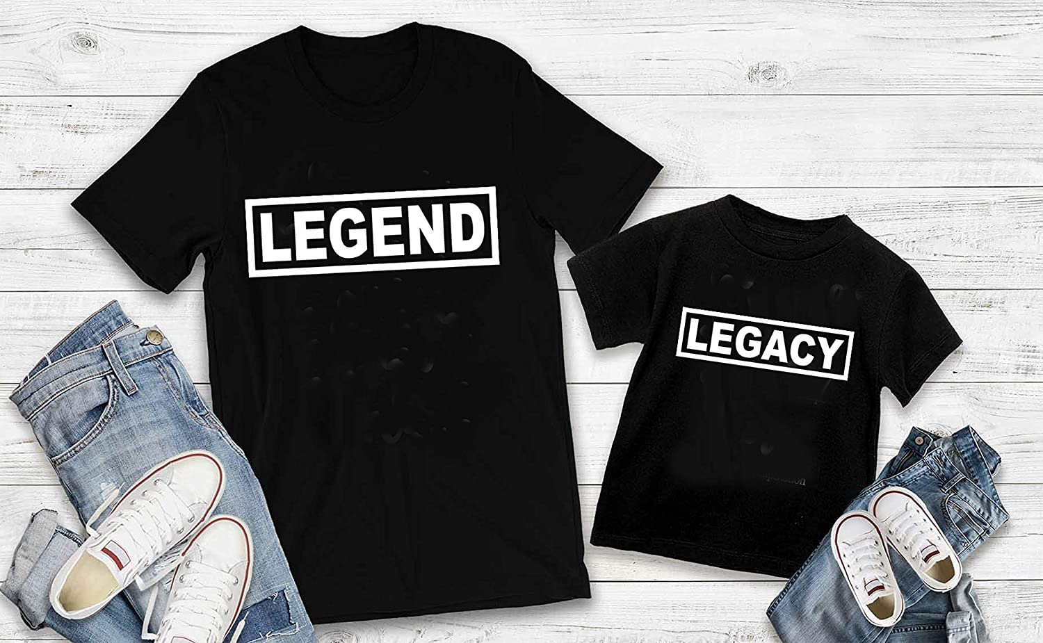 Legend or Legacy T shirt Special sale item - ONE mommy me ONLY and SHIRT Outlet ☆ Free Shipping family