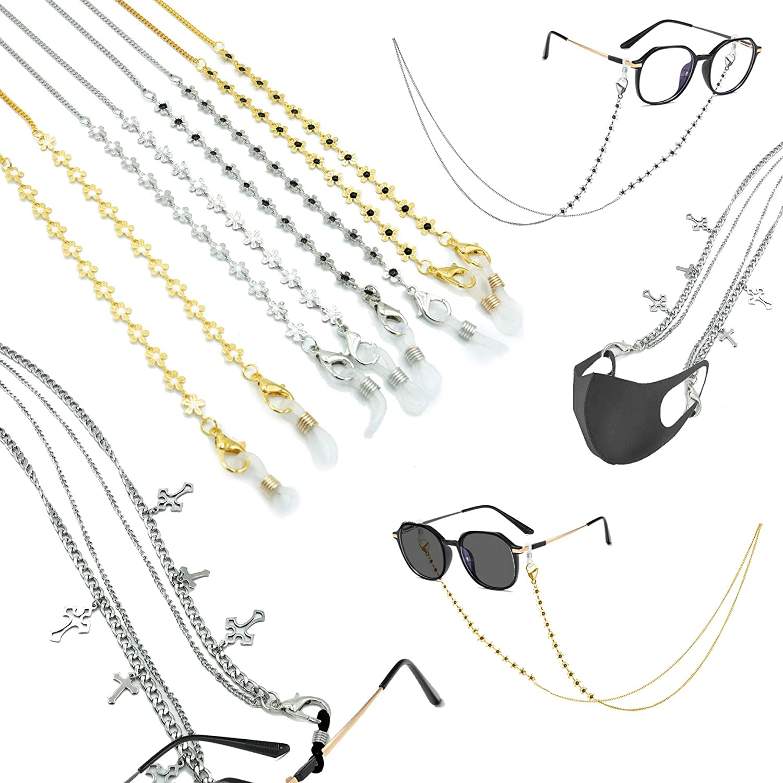 Mask Chain - Eyeglass Chain Lanyards - Glasses Holder - Face Mask Lanyard Strap