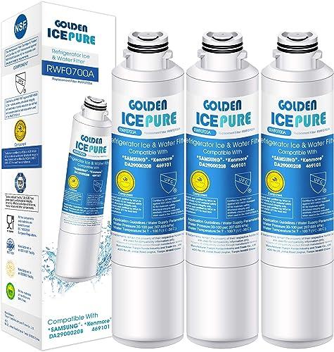 Remplacement du filtre à eau du réfrigérateur pour Samsung DA29-00020B, DA97-08006A-B, EXP HAF-CIN, DA29-00020A, Kenm...