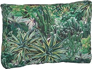 Cojín de salón de ratán de Beo, cojín de Respaldo, cojín Lateral, Acolchado de 60 x 40 cm Aprox. BE911 - Jardín de Cactus (20 cm), Color Verde