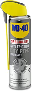 WD40 Anti Friction Dry PTFE Lubricant 250ml