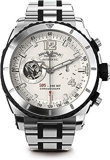 Armand Nicolet - A714AGN-AG-MA4710GN - Reloj para Hombres, Correa de Acero Inoxidable