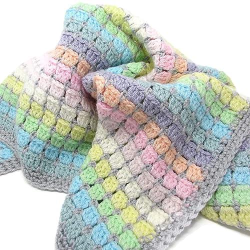 7c501aeb6 Crochet Baby Blanket  Amazon.co.uk