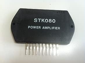 STK080 Audio Power Amplifier + Heat Sink Compound ORIGINAL NEW SANYO
