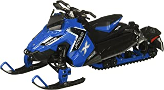 NewRay 57783B 1:16 Snowmobile-Polaris 800 Switchback Pro-X-Blue Diecast Vehicle, Blue
