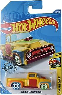 Mattel Hot Wheels Treasure Hunt Custom '56 Ford Truck 176/250, Yellow