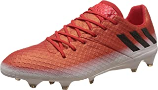 adidas Performance Mens Messi 16.1 FG Soccer Football Sports Training Boots -Red
