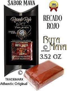 Authentic Original Recado Rojo Red Annatto Achiote Paste