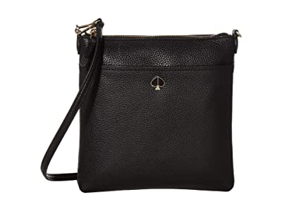 Kate Spade New York Polly Small Swing Pack (Black) Bags