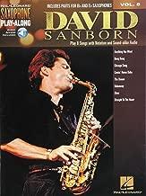 Saxophone Play-Along Volume 8: David Sanborn (Book/Online Audio)