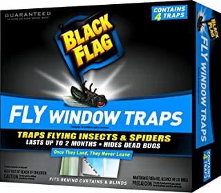 Black Flag Fly Window Trap (Pack of 3)