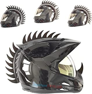 motorcycle helmet accessories mohawk