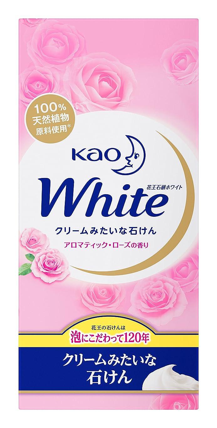 カバー剃る大いに花王ホワイト アロマティックローズの香り 普通サイズ(箱) 6個入