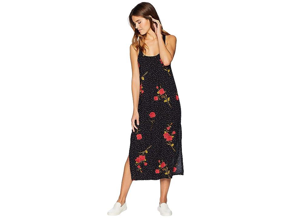 Volcom End of the Rose Dress (Black) Women