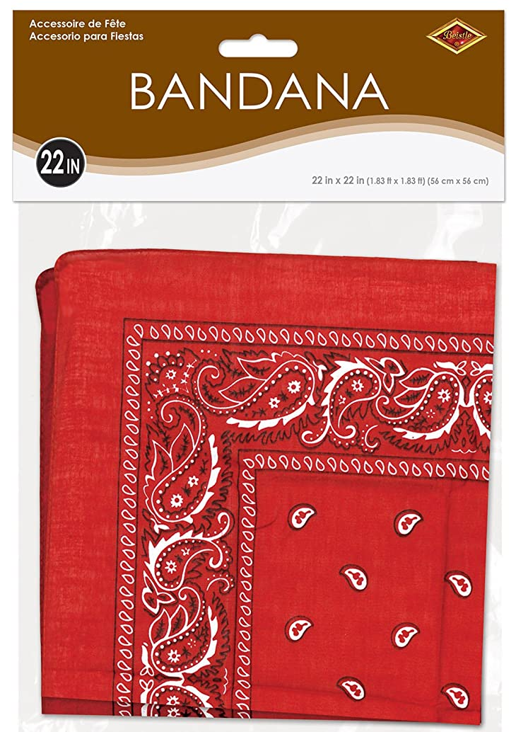 Red Bandana Party Accessory (1 count)