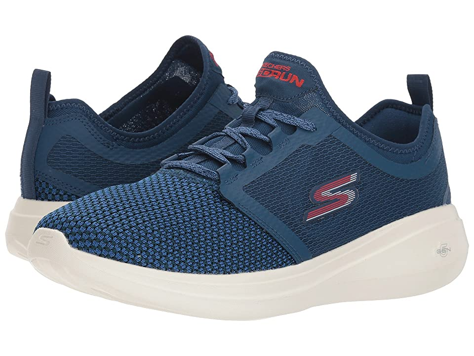 SKECHERS Performance Go Run Fast 55102 (Navy/Red) Men